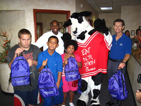 Dunedin Family Dentistry Backpack Giveaway 2012